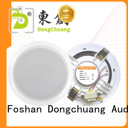 Dongchuang wholesale commercial ceiling speakers design for performance