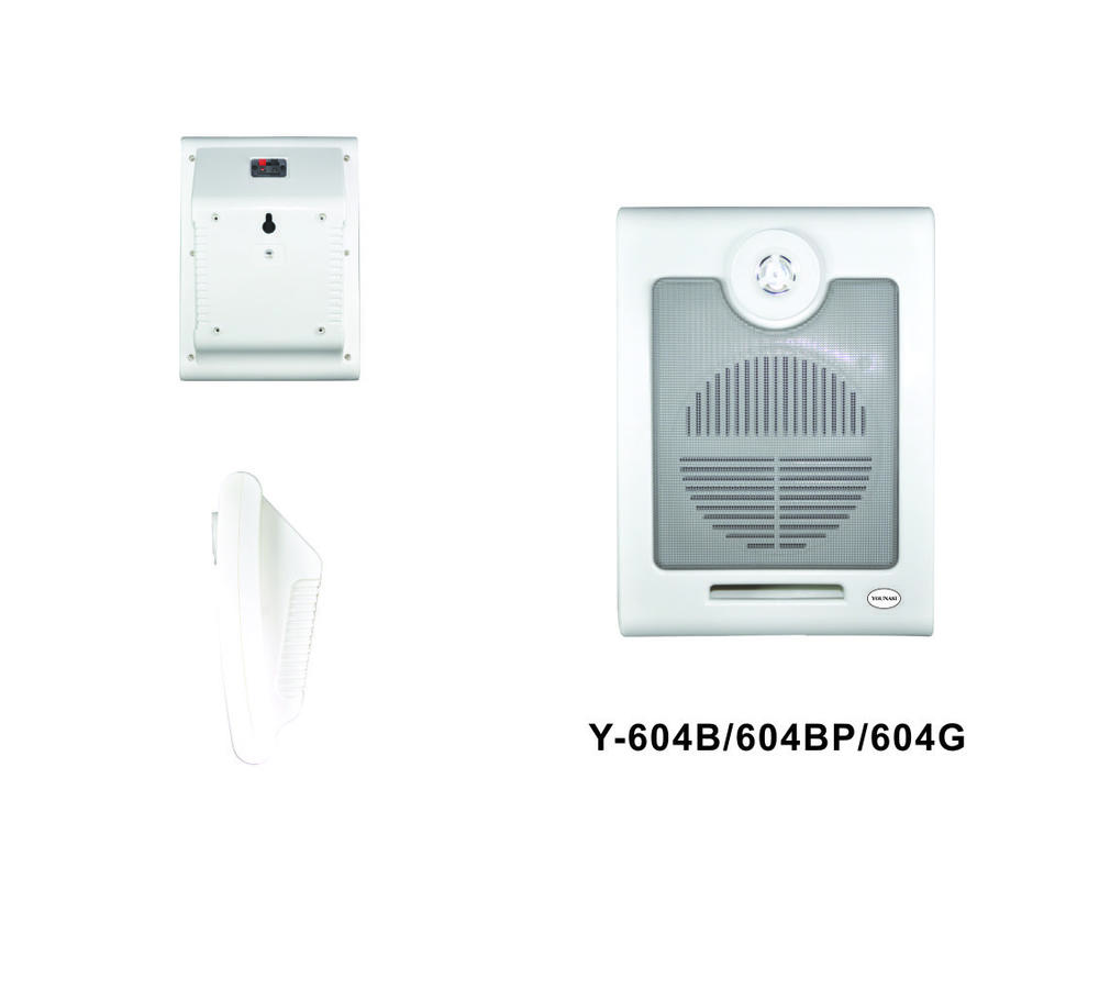Wall-mount speaker Y-604B/604BP/604G