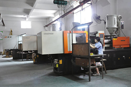 our mold machine in Dongchuang audio