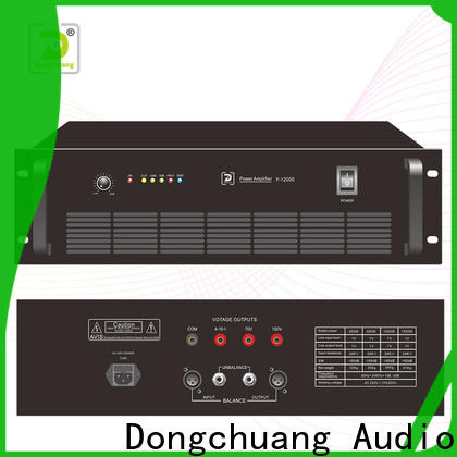 Dongchuang latest power amp home theater directly sale for concert