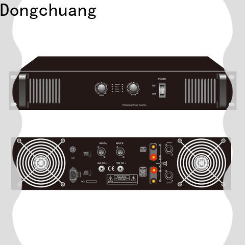 Dongchuang sound standard professional power amplifier with good price for karaoke