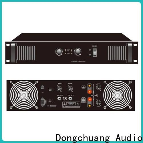 best professional amplifier manufacturer for good sound quality