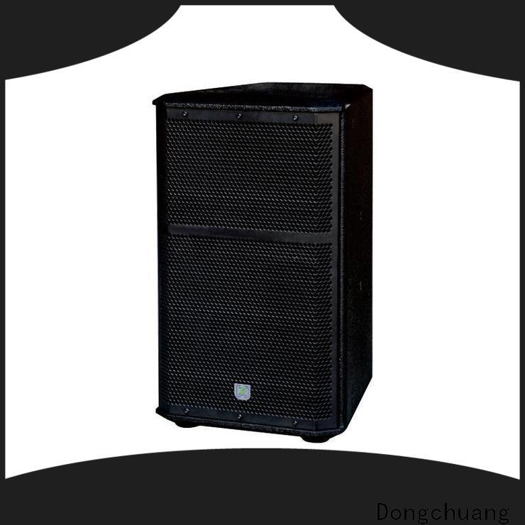 Dongchuang top pro speakers best manufacturer for karaoke