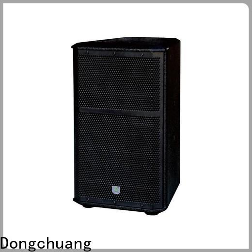Dongchuang efficient club pro system speakers manufacturer for professional use