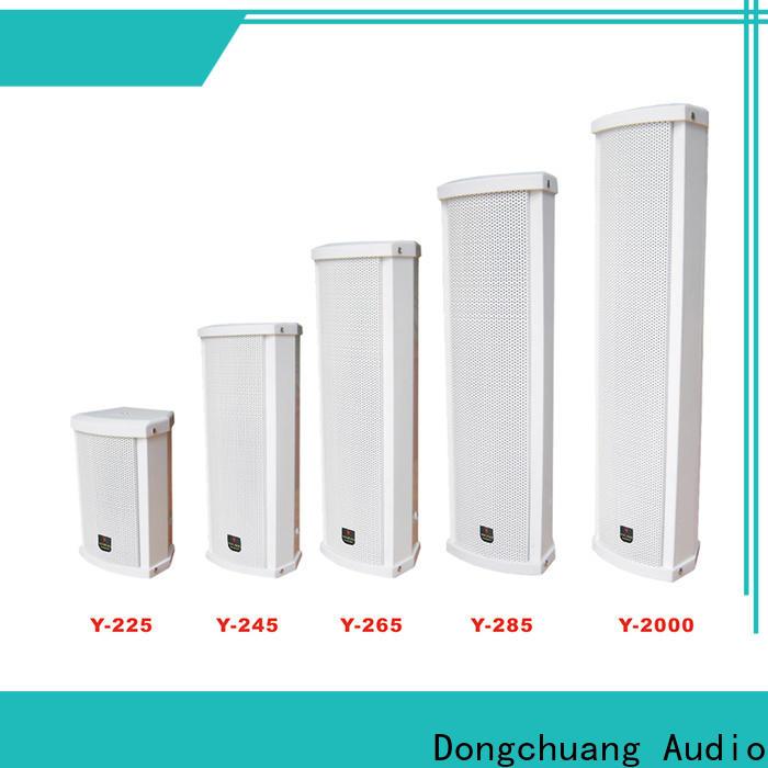 Dongchuang column array loudspeaker wholesale for KTV
