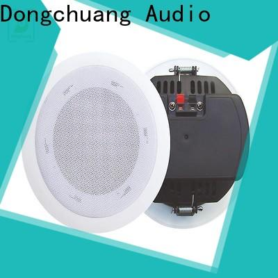 Dongchuang powered ceiling speakers from China for show