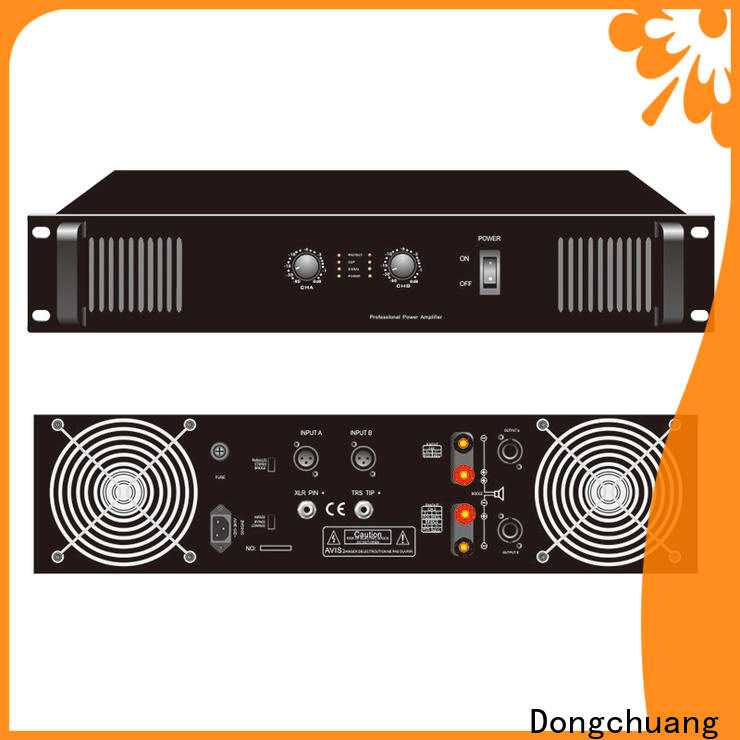 Dongchuang professional studio amplifier factory direct supply for KTV