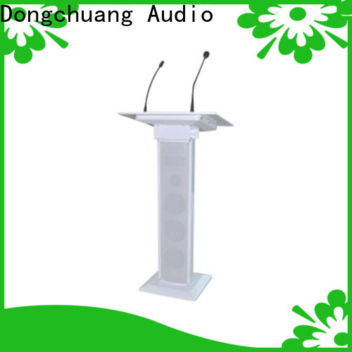 cheap portable podium pa system from China for performance