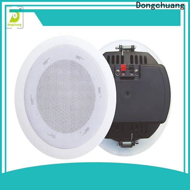 Dongchuang directional ceiling speakers company bulk production