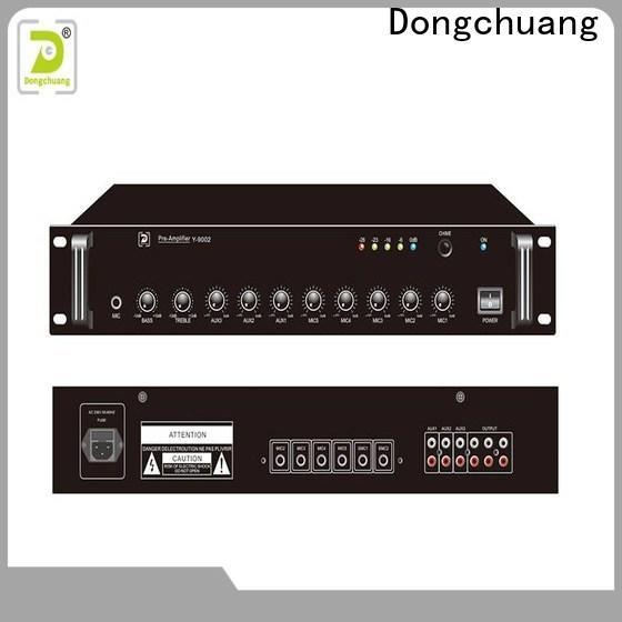 Dongchuang stereo pre amplifier manufacturer for karaoke