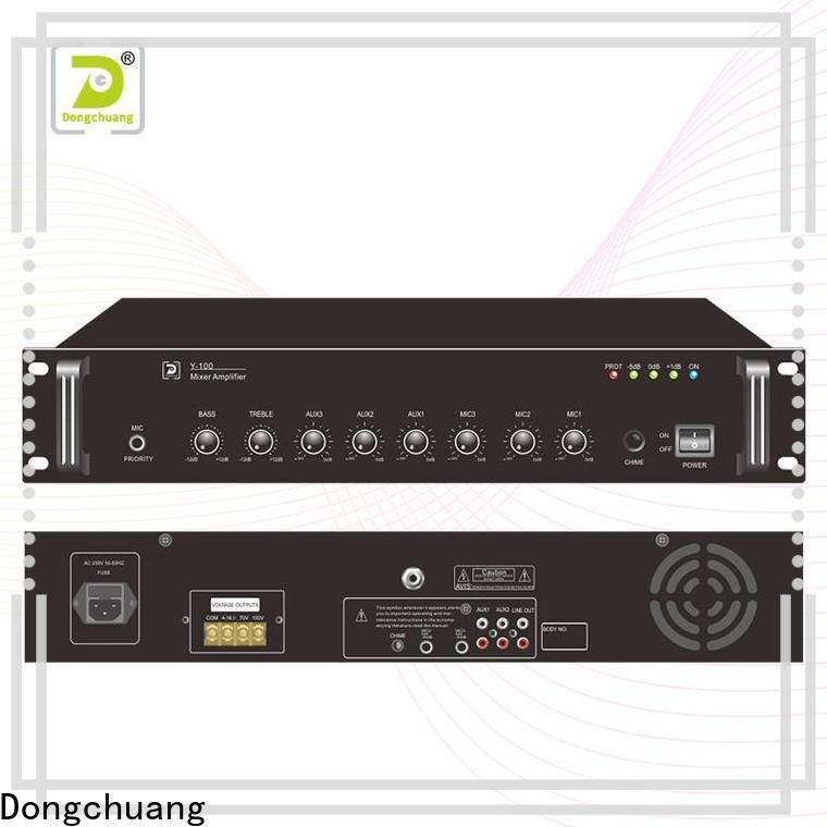 factory price dj mixer amplifier factory for club