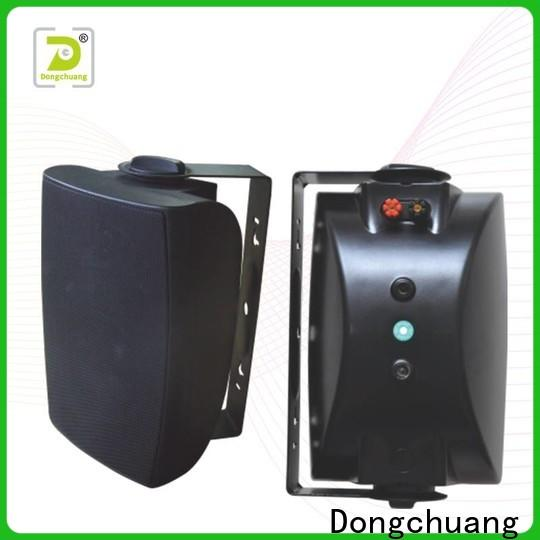 Dongchuang quality wall speakers for tv directly sale for bar