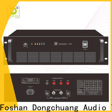 Dongchuang best pa power amplifier supplier for professional use