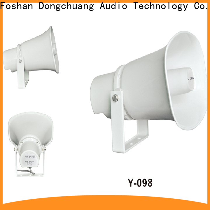 Dongchuang top selling horn speakers hifi factory for karaoke