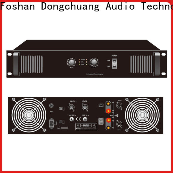 Dongchuang new best pro amps from China for bar