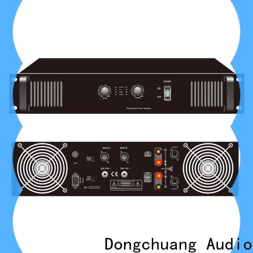 Dongchuang low-cost sound standard professional power amplifier factory direct supply bulk production