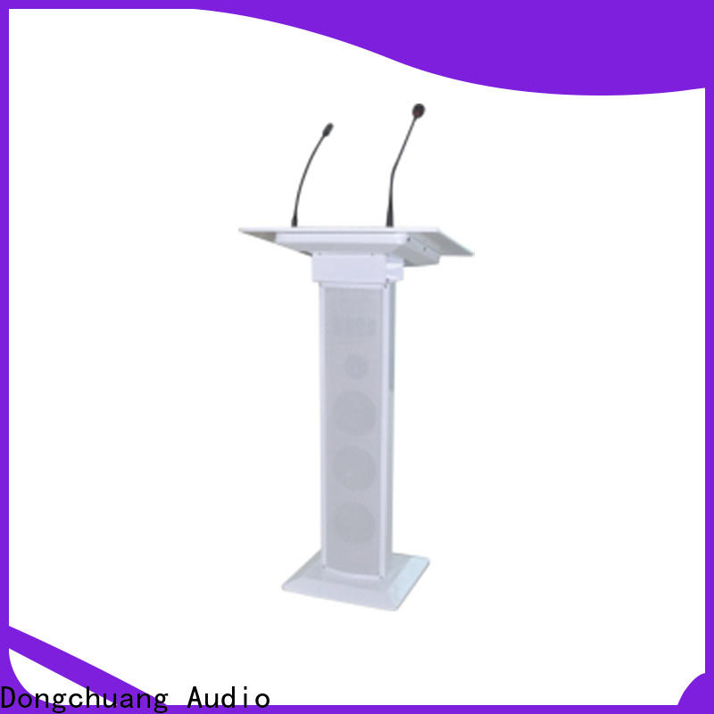 high-quality audio visual lecterns factory for business
