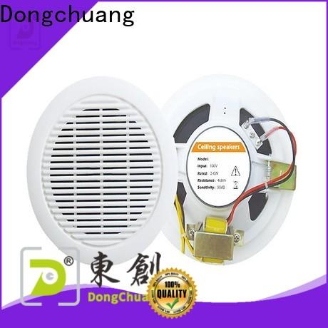 Dongchuang commercial ceiling speakers manufacturer bulk production