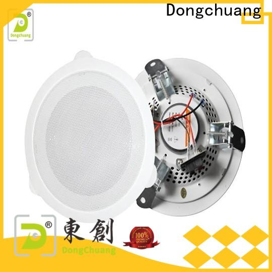 Dongchuang best ceiling speaker system factory for club