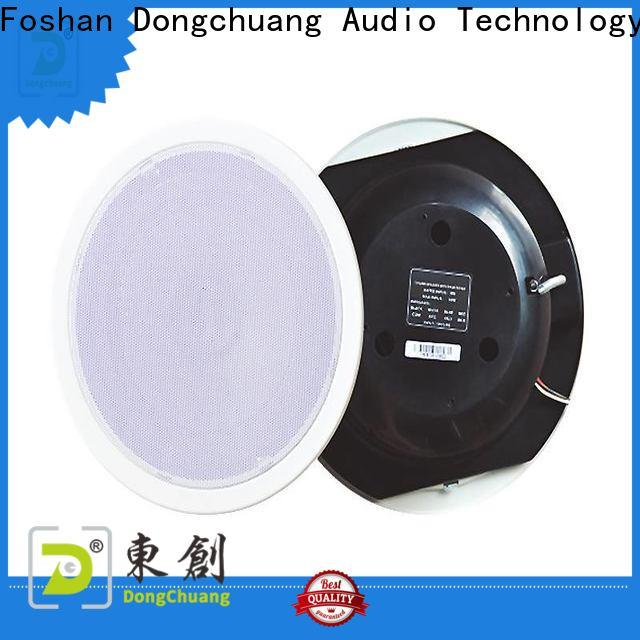 Dongchuang stable best wireless ceiling speakers manufacturer for show