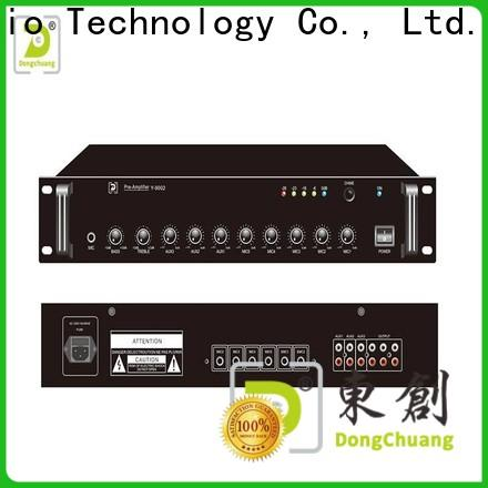 Dongchuang stereo pre amplifier best supplier for club