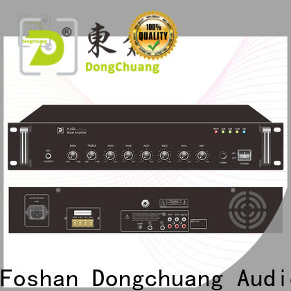 Dongchuang hot selling dj amplifier factory direct supply for performance