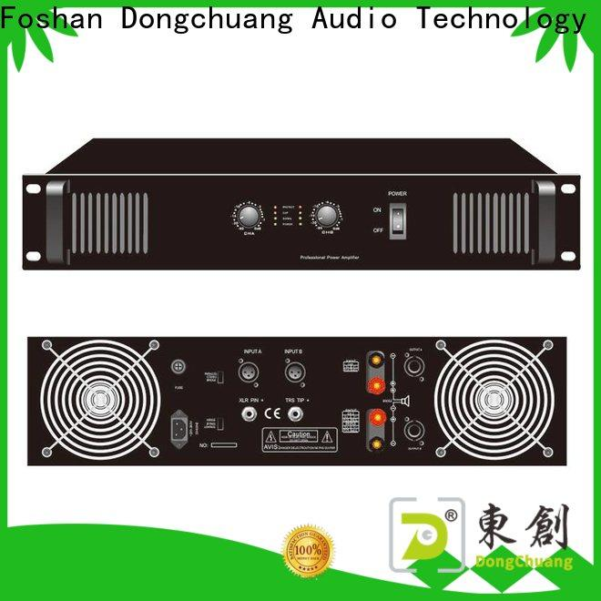 Dongchuang professional stereo amplifier company bulk production