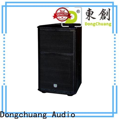 Dongchuang professional speaker system from China for show
