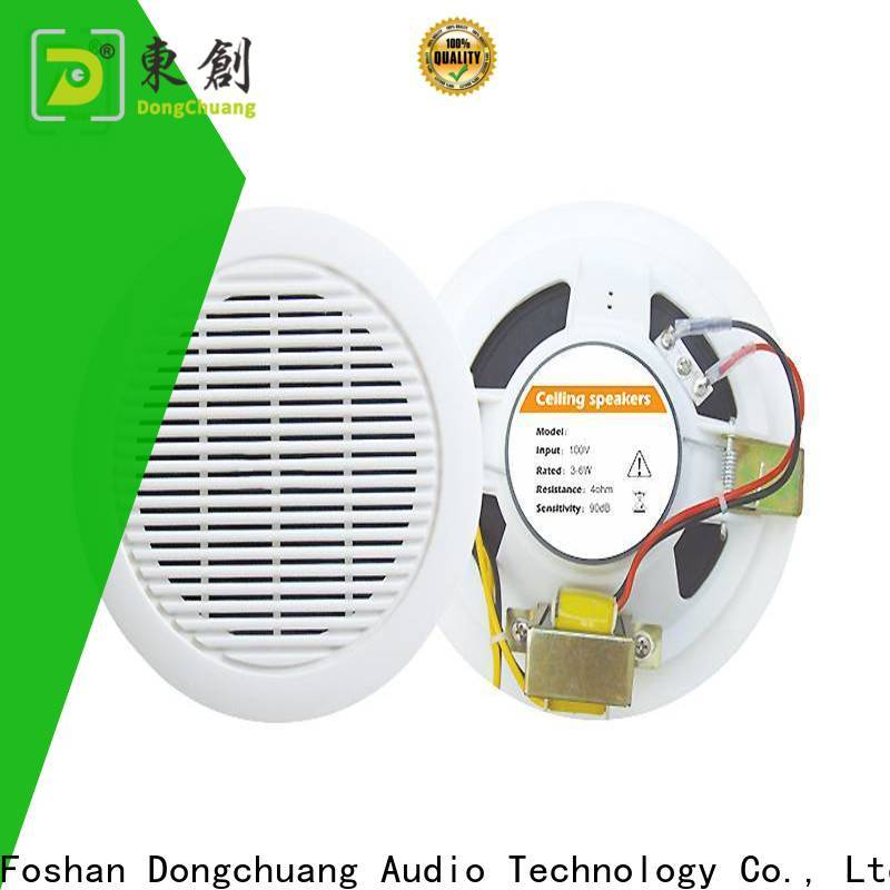 Dongchuang ceiling speakers with bass with good price for home use