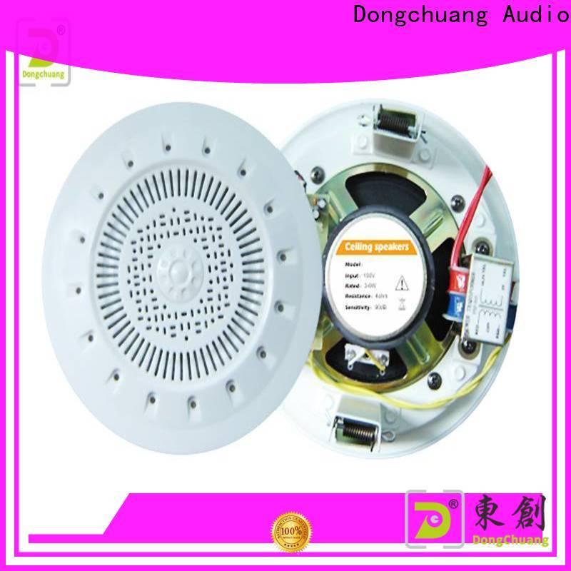 Dongchuang home cinema ceiling speakers factory for home use