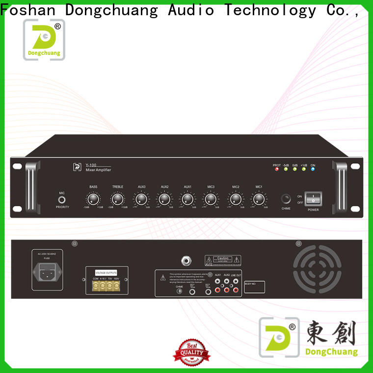 Dongchuang top selling professional mixer amplifier suppliers for performance