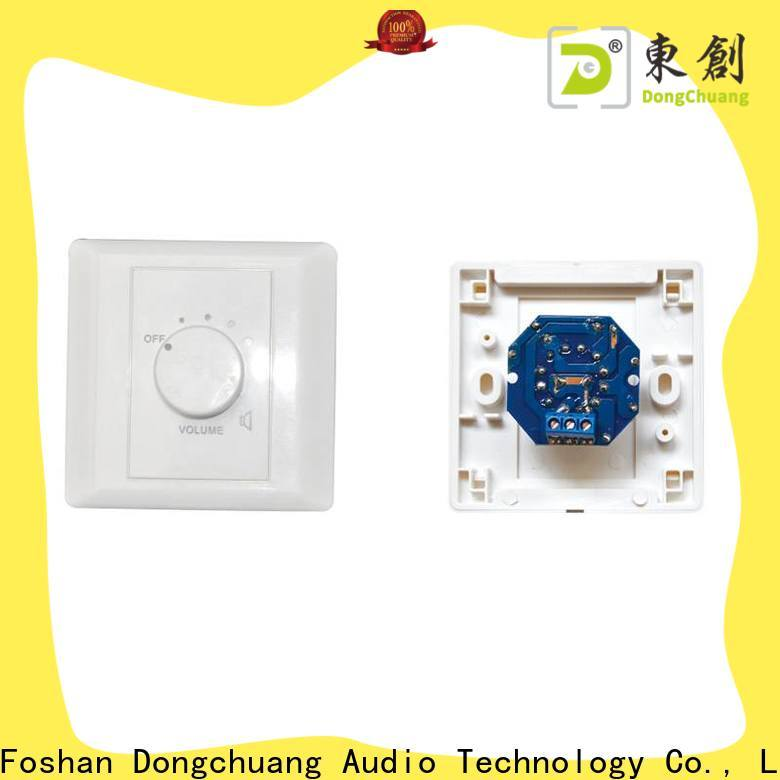 Dongchuang best volume control wall switch best manufacturer for professional use