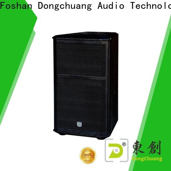 Dongchuang long lasting club pro system speakers suppliers for home use