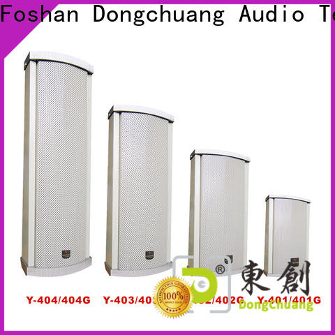 Dongchuang column speakers pa system wholesale for show