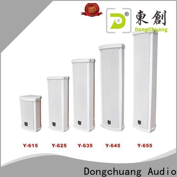 Dongchuang powered column speaker series for club
