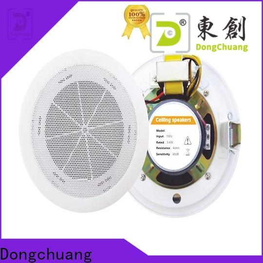 Dongchuang top quality indoor ceiling speakers inquire now for karaoke