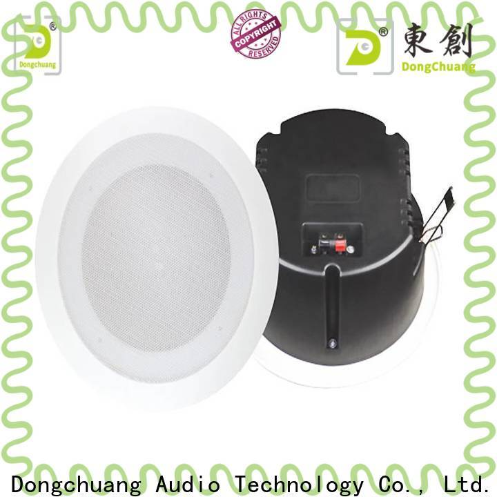 Dongchuang low profile ceiling speakers factory for karaoke