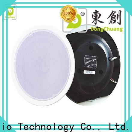 Dongchuang factory price ceiling speakers with bass supply for club