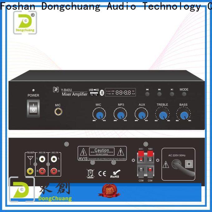Dongchuang best value dj amplifier wholesale for show