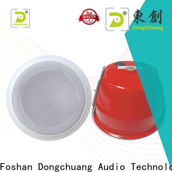 Dongchuang cost-effective best ceiling speaker system wholesale for good sound quality