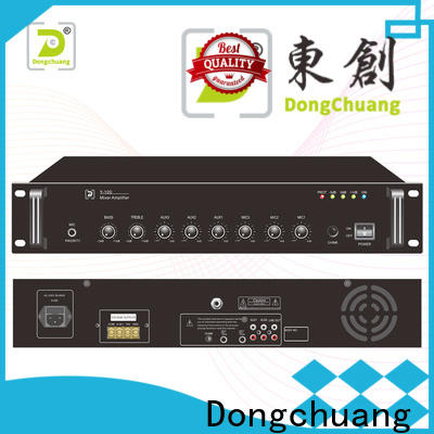 Dongchuang powered pa mixer amplifier directly sale for concert