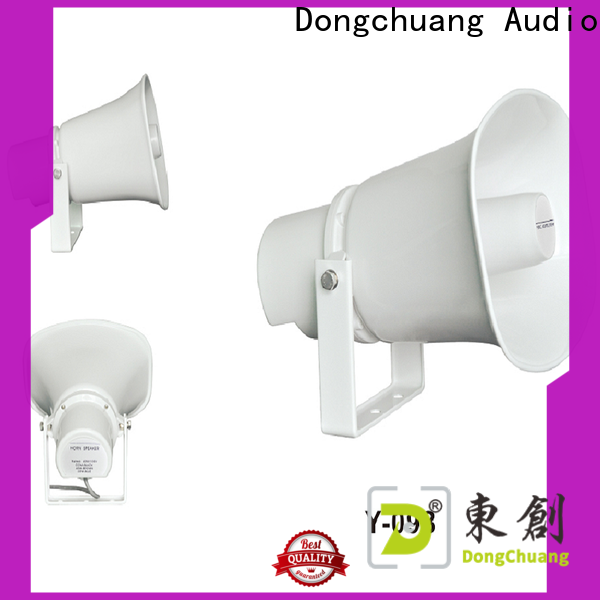 Dongchuang durable horn speakers hifi best supplier for professional use