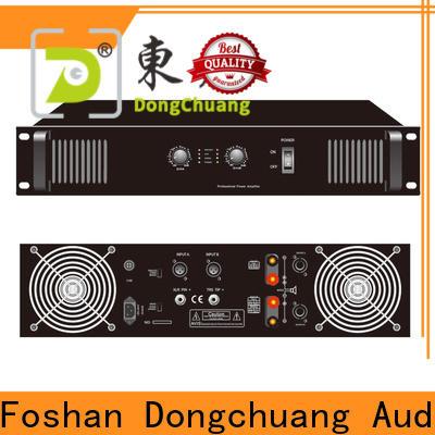 Dongchuang reliable best professional amplifier wholesale bulk production