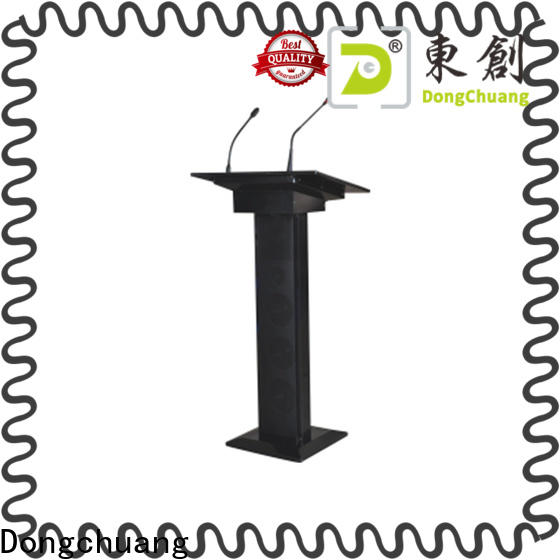 Dongchuang hot selling audio visual lecterns wholesale for professional use