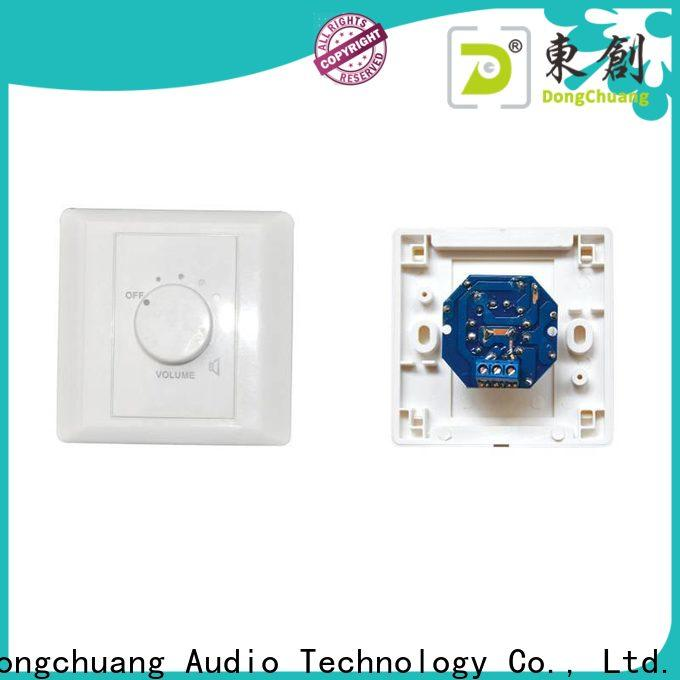 Dongchuang wall mount volume control manufacturer for performance