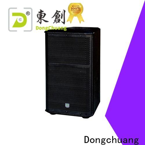 Dongchuang top top pro speakers supplier for show