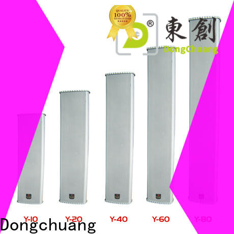 Dongchuang best value powered column speaker company for concert