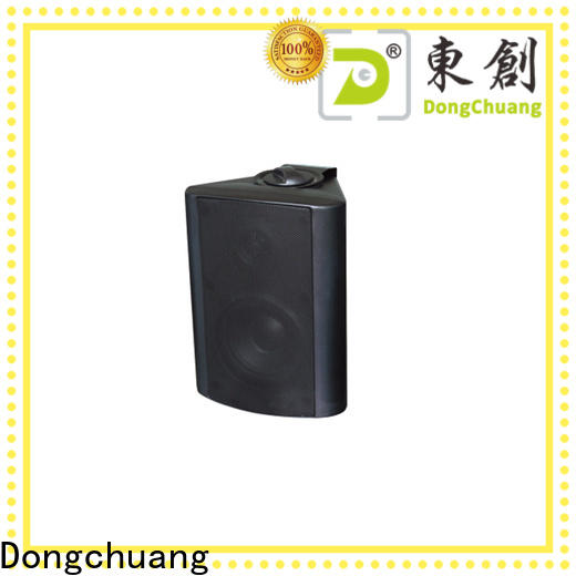 Dongchuang on wall speakers factory direct supply for club