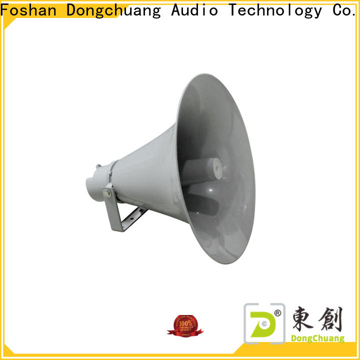 Dongchuang energy-saving audio horn speakers suppliers for concert