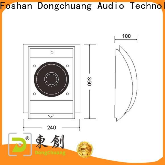 quality low profile wall speakers factory direct supply for performance